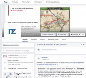 Une page Facebook pour favoriser votre référencement