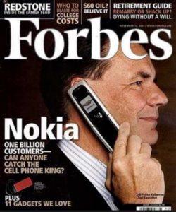 Nokia a raté son changement